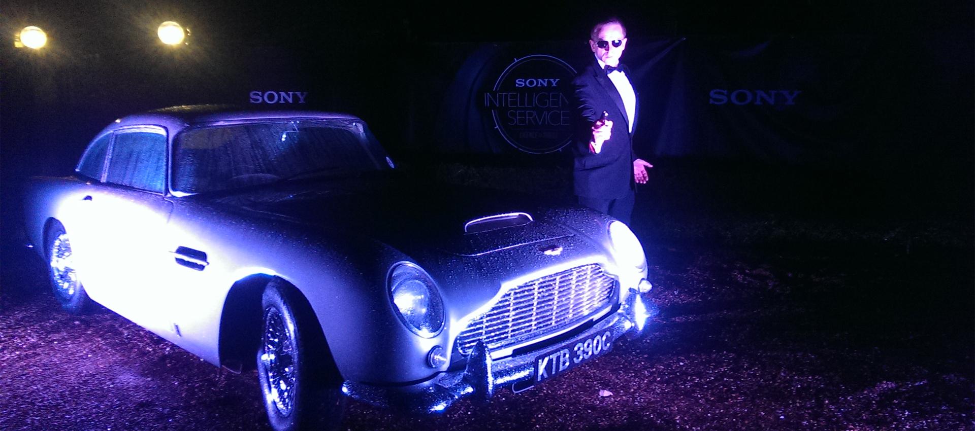 aston martin db5 hire - the ultimate james bond car